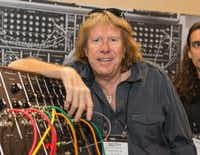 Keith Emerson was able to compose without any instrument, his longtime partner, Mari Kawaguchi, said. (File 2015/The Associated Press)