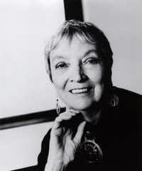 """This undated photo, supplied by Farrar, Straus and Giroux, shows author Madeleine L'Engle, whose novel """"A Wrinkle in Time"""" has been enjoyed by generations of schoolchildren and adults since the 1960s, who died Thursday Sept. 6, 2007, at a nursing home in Litchfield,Conn., of natural causes.. She was 88."""