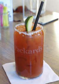 The Bloody Mary at Packard's New American Kitchen is one of the city's best.( John Gifford )