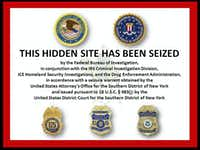 An undated screenshot of a message recently visible on the Silk Road website, a popular online black market for drugs. Federal authorities have charged Ross Ulbricht, who was arrested by FBI agents at a library in San Francisco, with running the site.(HANDOUT - NYT)