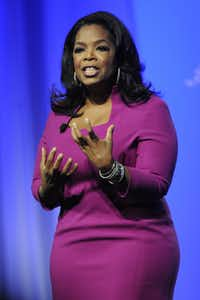 Oprah Winfrey may not be a full-time vegan, but she led her staff on a public 21-day vegan cleanse.(AP)