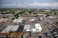 The view of downtown Dallas from the 15th floor of the Bank Tower at Oak Cliff.ROSE BACA  - neighborsgo staff photographer