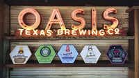 At Oasis Texas  Brewing Co. overlooking Lake Travis, look for signature brews, some named for popular Texas tunes.(Oasis Texas Brewing Company)