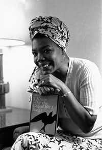 The autobiography I Know Why the Caged Bird Sings established Maya Angelou's literary reputation.File 1971 - The Associated Press