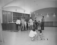 The Preston Royal branch library, which is on Royal Lane near Preston Road, opened in 1964.City of Dallas