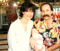 Patty Feinstein (left) and Jeff Feinstein opened Cotton Island three years before their daughter, Lauren, was born in 1986.