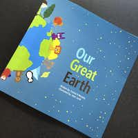 Our Great Earth is good bedtime reading with kids.(Cheryl Collett)