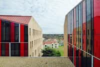 St. Edwards University, Alejandro Aravena, architect. Photo: Mark Lamster