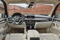 BMW put much of its efforts — and more than a few dollars — into the interior of the X5.