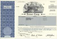 Die-hards hoard Enron Corp. paper stock certificates in hopes that they'll be worth something someday.