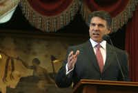 Gov. Rick Perry delivered his 2011 State of the State address Tuesday.