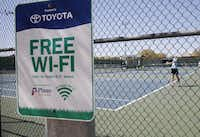 Toyota is also helping Plano pay for free Wi-Fi service in parks through a partnership with Time Warner Cable and American Park Network.City of Plano