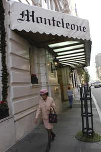 The Monteleone Hotel is open for tourists in New Orleans, Monday, January, 2, 2006.
