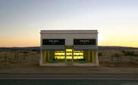 "Prada Marfa, near Valentine in West Texas, is a sculpture bearing the name of the Italian fashion house. Its artists created it as a ""pop architectural land art project.""( File   -  The Associated Press )"