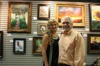 Pam and Hans Massar are the current owners of the Dutch Art Gallery in Lake Highlands. The gallery was opened in the Northlake Shopping Center by Hans' parents Ben and Ann Massar in November 1965.Staff photo by HEATHER NOEL  -  neighborsgo