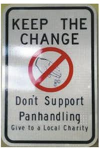 You will start seeing these signs in Deep Ellum, downtown, Uptown and Victory Park in the near future.