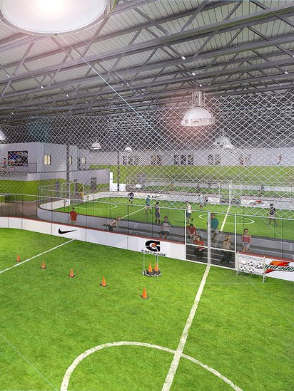Construction Starts Soon On New 56 000 Square Foot Frisco Sports Complex Business Dallas News