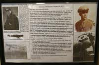 With the help of World War II historian Heather Steele, German Luftwaffe pilot Karl-Heinz Bosse's Messerschmitt tracked down the American pilot who shot him down in 1944. Now 90-year-old, Bosse wrote in German in a letter to Sue Long last October.(The Dallas Morning News/Vernon Bryant)