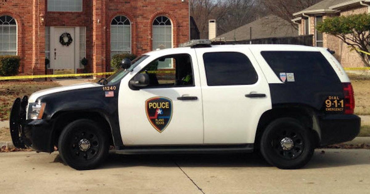 Plano Police Car