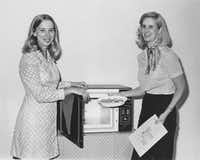 Cooking demonstrations, including with microwave ovens, were a part of the branch's programming.(City of Dallas)
