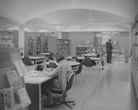 The Preston Royal library is shown in its early days.City of Dallas