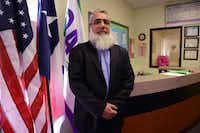 "Principal Qadeer Qazi founded the all-girls Qalam Collegiate Academy in Richardson last August. ""My dream is to help the community, to execute a project no one has done,"" he said.(Rose Baca - neighborsgo staff photographer)"