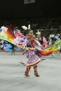 Tribes from across the country will celebrate at the 42nd annual Denver March Powwow.( Brian Fraker )