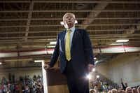 Donald Trump has taken heat for not correcting a supporter's characterization of President Barack Obama as a Muslim during a Rochester, N.H., campaign rally last week.( Ian Thomas Jansen-Lonnquist  -  The New York Times )