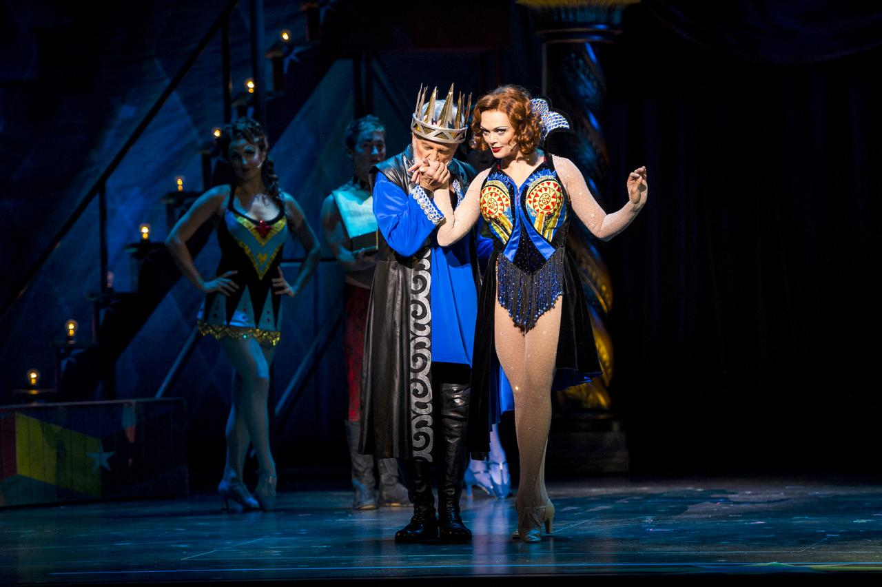 John Rubinstein looks at 'Pippin' from both sides now