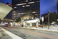 HKS is formally opening its downtown Dallas office this week in One Dallas Center.(Contributed - HKS)