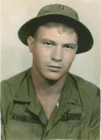 Rick Collins in Vietnam in 1968