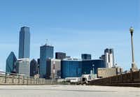 """The Houston Street viaduct is located in """"Area A"""" - called the Riverfront area in the LINC Dallas [ Leveraging & Improving Neighborhood Connections ] plan."""