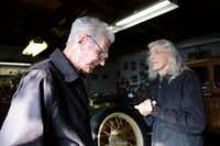 Mack and his friend Lillie Mae Reeder met because of their mutal interest in classic cars.ROSE BACA