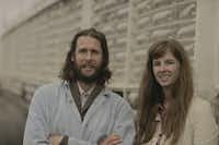 """""""The Plastiki will be the symbol for the innovation center, its beacon,"""" said Stephanie Hunt with David de Rothschild, who owns the craft and loves the innovation lab concept."""