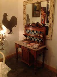 Inside Junk Gypsy, finds include antique home decor.June Naylor  -  Special Contributor