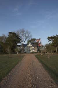 The Liliput Lodge is one of six restored 1800s homes at the Prairie by Rachel Ashwell.( The Prairie by Rachel Ashwell )