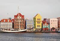 Distinctive 17th and 18th century Dutch colonial architecture adds color to Willemstad, the capital of Curaçao.( Robin Soslow  -  Robin Soslow )
