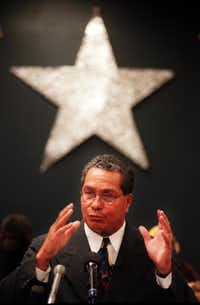 """Waldemar """"Bill"""" Rojas was fired after 11 months on the job for failing to maintain a good rapport with the school board."""