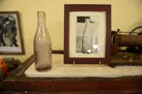 One of the oldest artifacts at the Zaner Robison Historical Museum is a glass soda bottle from Royse City Bottle Works from the turn of the 20th century.ROSE BACA