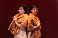 Molly Franco (left) as Daisy Hilton and Chloe Voreis as Violet Hilton star in Side Show at Casa Manana. Guide/famkidscorner