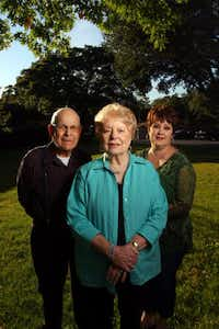 Jack and Dorothy Coleman (shown with daughter Deanna Pratt) opted for a retirement village close to their roots in Oak Cliff.