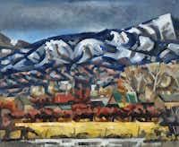 Loren Mozley Snowy Range, 1948 Oil on canvas