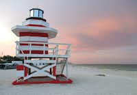Walk or refresh yourself in early evening waves at the southernmost beach.( Robin Soslow  -  Robin Soslow )