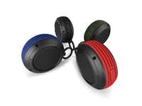 For music on the trail, the beach or the deck, fathers will like the Voombox Travel wireless, Bluetooth speakers. The compact, 2-inch-round speakers are surrounded by a water-resistant housing and are designed to connect via Bluetooth. Included is a micro-USB charging cable. Available in red, blue, black or orange. $49.95 at divoomusa.com.Divoom USA  - Divoom USA