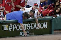 During Game 3 of the National League Division Series, a squirrel streaked across the outfield of Busch Stadium. Another squirrel — or perhaps the same one — scurried across home plate at the next game.
