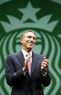 Howard Schultz of Starbucks Coffee Co.