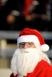 Santa was spotted in the crowd at the Class 5A Division II Region I high school finals between Cedar Hill and Waco Midway on Dec. 8 in Midlothian.