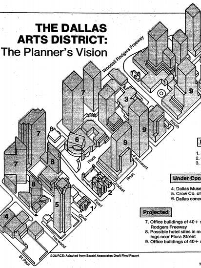 Thirty years after Sasaki Plan created Dallas Arts District, a call ...