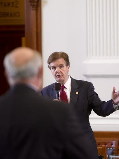 Lieutenant Governor Candidate Dan Patrick Knows Struggles Of Going