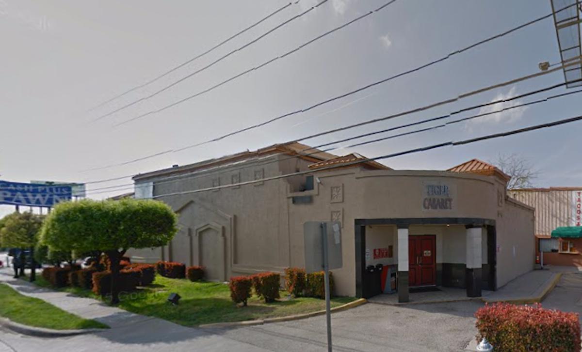 Image result for Tiger Cabaret Club at 9125 E. R.L. Thornton Freeway.